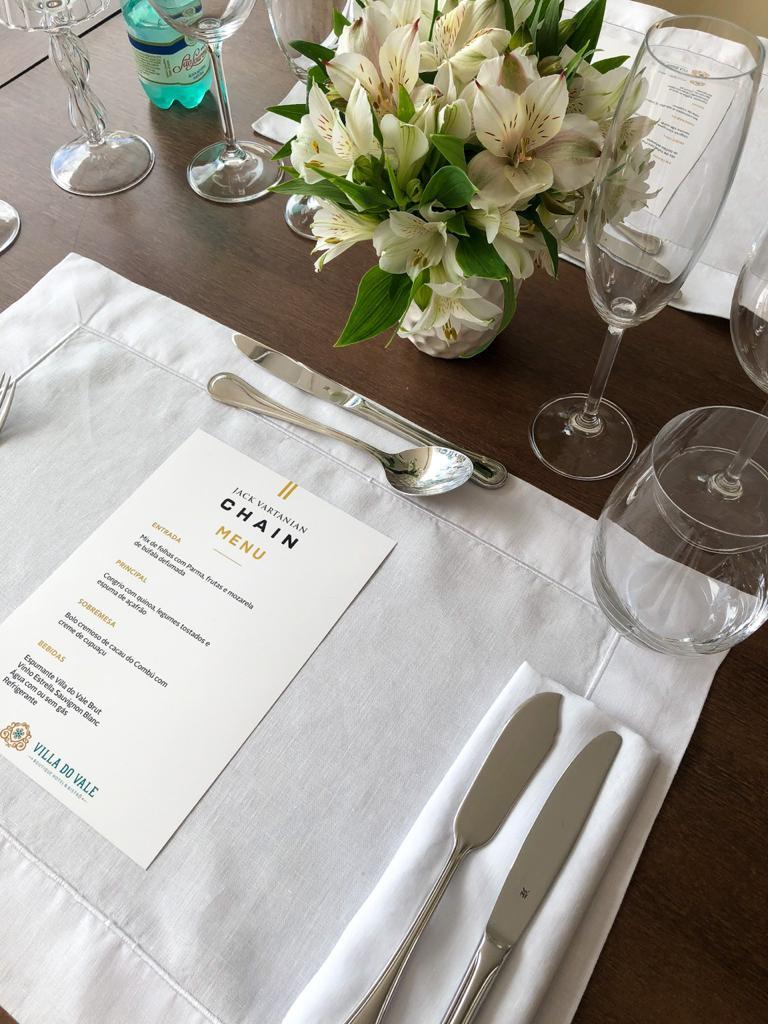 Almoços Personalizados